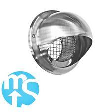 """In acciaio inox 100mm (4"""") Bull Naso Vent * Bassa resistenza con interno mesh SS *"""