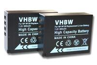 Original VHBW ® cargador para Fuji Fujifilm finepix np-w126