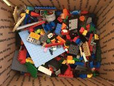 Bulk LEGO LOT 5 pounds lbs box of Bricks parts Pieces Tires mixed minifigs