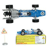 DINKY TOYS 1/43 1417 MATRA F1 ALLOY die-cast  ATLAS CAR MODEL RARE COLLECTION