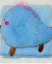 Carter's Baby Sleeping Blanket + Pillow Bird Sky Blue