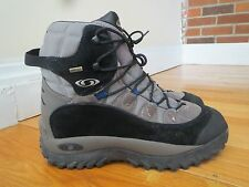 Salomon Mens Size 11.5 Contagrip Gore-tex Hiking Boots Shoes