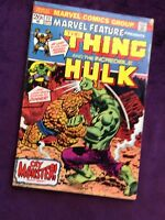 Marvel Feature presents The Thing & The Hulk #11, excellent ungraded condition.