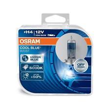 Coppia Lampade Lampadine OSRAM COOL BLUE BOOST H4 (P43t) 12V 100/90W 5000k +50%