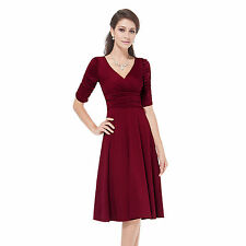 Polyester Special Occasion Dresses Midi