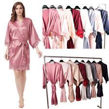 Personalización de personalidad Bridesmaids Batas Kimono De Boda Nupcial Vestido de vestir