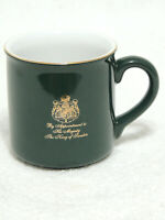 Vintage Gevalia Kaffe Mug By Appointment to His Majesty the King of Sweden Green