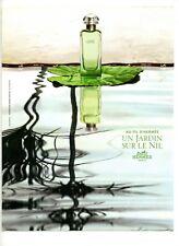 2004 : Hermès – parfum un jardin sur le Nil (publicity, advertising)