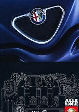 1998 1999 Alfa Romeo 156 145 146 Spider GTV German Car Sales Brochure Catalog