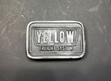 Hit Line Usa Belt Buckle Yellow Freight Systems