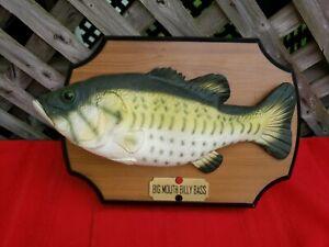 Big Mouth Billy Bass 1999 Singing Fish
