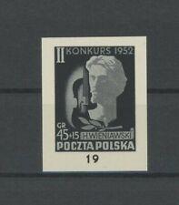POLAND OFFICIAL BLACK PRINT 1958 RARE! MUSIC WIENIAWSKI VIOLIN VIOLINIST /m1937