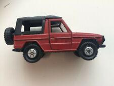 Mercedes-Benz Geländewagen Bm:460 Cabriolet Modellauto 1:66 CONRAD 1702 rot