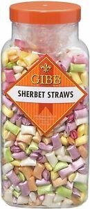 GIBBS , SHERBERT STRAWS, PICK N MIX , TRADITIONAL SWEETS,