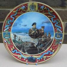 ROYAL DOULTON Cabinet Plate - The D Day landings