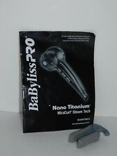 Babyliss Pro Nano Titanium MiraCurl Steam Cleaning Tool Directions