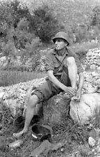 WW2 Photo WWII US Army 10th Mountain Division Soldier Italy World War Two / 1401