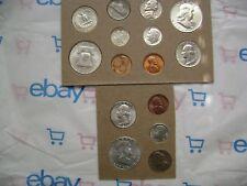US 1951 P&D 1C 50C Mint Set