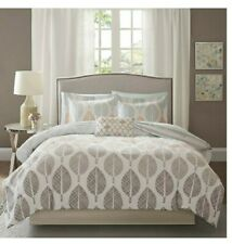 MADISON PARK 7PC TWIN BED SET WITH COMFORTER NEW