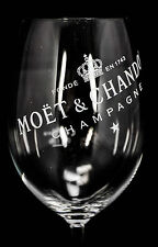 Moët Chandon, Imperial champagne verre, ballonglas, stölzle région de Lausitz