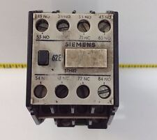 SIEMENS CONTACTOR RELAY 16A 3TH8262-0B