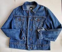 Gap Size Small  Women's Jean Jacket Blue Trucker Pockets 100% cotton 46-33