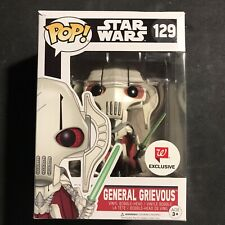 Funko Pop General Grievous Star Wars 129 Walgreens #129 Vaulted In A Protector