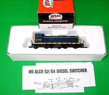 Atlas nº 8702,us - diesellok Alco s-2 # 2352, Santa Fe Railroad, pista h0, embalaje original