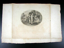GRAVURE XVIII Nicolas Colibert LONDON PUBLISHED APRIL 25TH 1785 BY JAS BIRCHALL