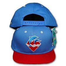 Original Pink Dolphin Snapback Cap blau/rot su13snwavb2 blue