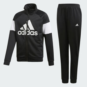 Adidas Boys Zip Tracksuit Training Pants Kids Jogging Bottoms Jacket Track Top