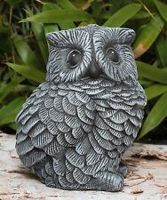 sculpture en pierre hibou oiseaux sculpture de jardin Animal Figurine décorative
