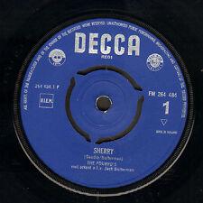 """FOURYO'S – Sherry/Smoorverliefd op een Meisje (1962 VINYL SINGLE 7"""")"""
