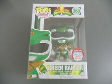 FUNKO POP Mighty Morphin Metallic Green Power Ranger NYCC 2016 Exclusive