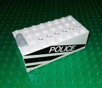 LEGO Batterie Kasten 4762 weiß Police Polizei 9 Volt Power 9V Battery Box City 1