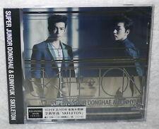 DONGHAE & EUNHYUK SKELETON 2014 Taiwan Ltd CD+DVD+Card (Super Junior)