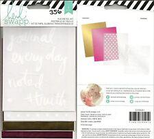 Heidi Swapp Rub-On Foil Kit Journal Everyday 4 PC #356