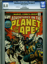 Adventures on the Planet of the Apes #1 - October, 1975 - CGC 8.0