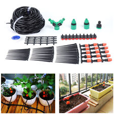 Automatic Drip Irrigation System Kit 40M Micro Sprinkler Garden Watering Plant