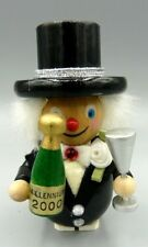 New Years Party Celebrator Ornament - Hand Made in Germany