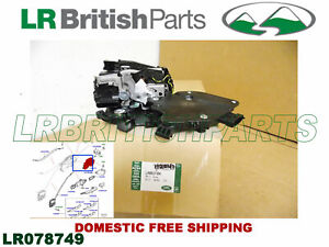 GENUINE LAND ROVER REAR DOOR LATCH RANGE ROVER 2014 SPORT 2014 LH NEW LR078749