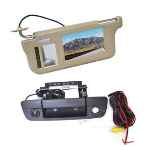 Sun Visor Rear View Mirror Monitor & Reverse Camera for Dodge Ram 1500 2500 3500