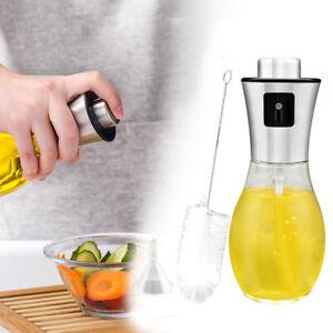 Öl Sprayer Zerstäuber 3 in 1 , Ölsprüher Ölspender Bürste Trichter Cooking Spray