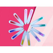4PCS Durable Nail Art Files Crystal Glass File Buffer Device Pro Manicure Tool