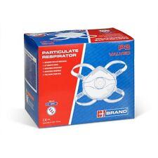 B-Brand BBP3V FFP3V Dust Fume & Vapour Mask Respirator Valved - 5 Mask Box