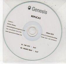 (DD606) Replicas, The City / Hearts Beat - DJ CD