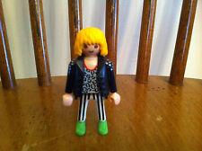 vintage 1992 Playmobil Heavy Metal character figure Playmobile Glam Rock Hair