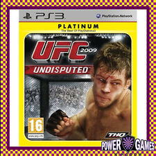 UFC 2009: Undisputed Patinum PS3 (Sony PlayStation 3) Brand New
