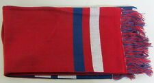 NFL New York Giants Multi-Color OSFA Two-Sided Stadium Knit Scarf By Reebok