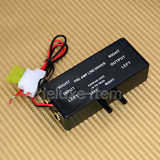 Car Audio Stereo Radio Pre-Amp RCA Input / Output Line Driver Signal Amplifier